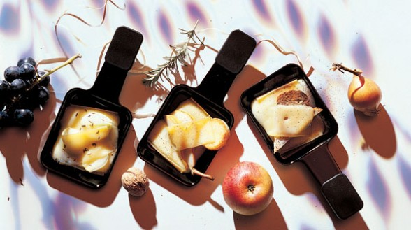 Raclette  con plancha piedra