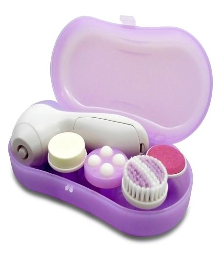 Limpiador facial eléctrico para una limpieza diaria