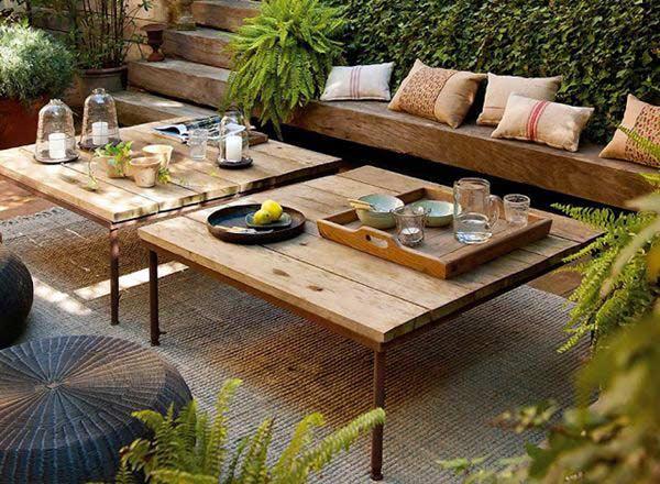 Consejos para cuidar el jard n y la terraza perfectos for Muebles de mimbre para jardin