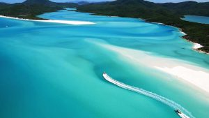Whitehaven en las Islas Whitsunday, Australia
