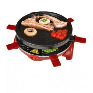 raclette grill noche de verano