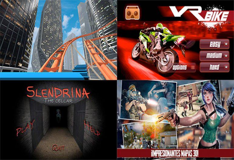 Los mejores juegos para gafas de realidad virtual