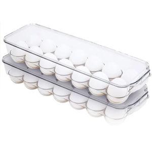 Caja almacenaje huevos frigorifico