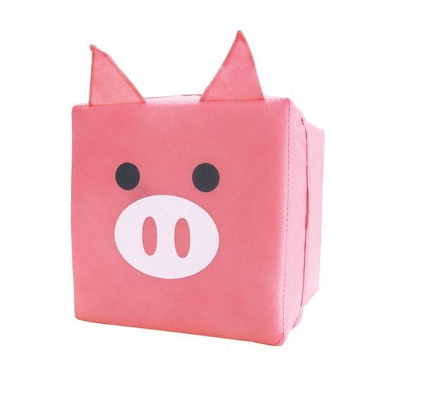 Caja almacenamiento infantil cerdito jocca for Caja almacenaje infantil