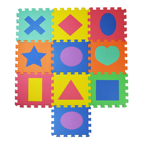 Alfombra puzzle para ni os jocca - Alfombras para jugar ninos ...