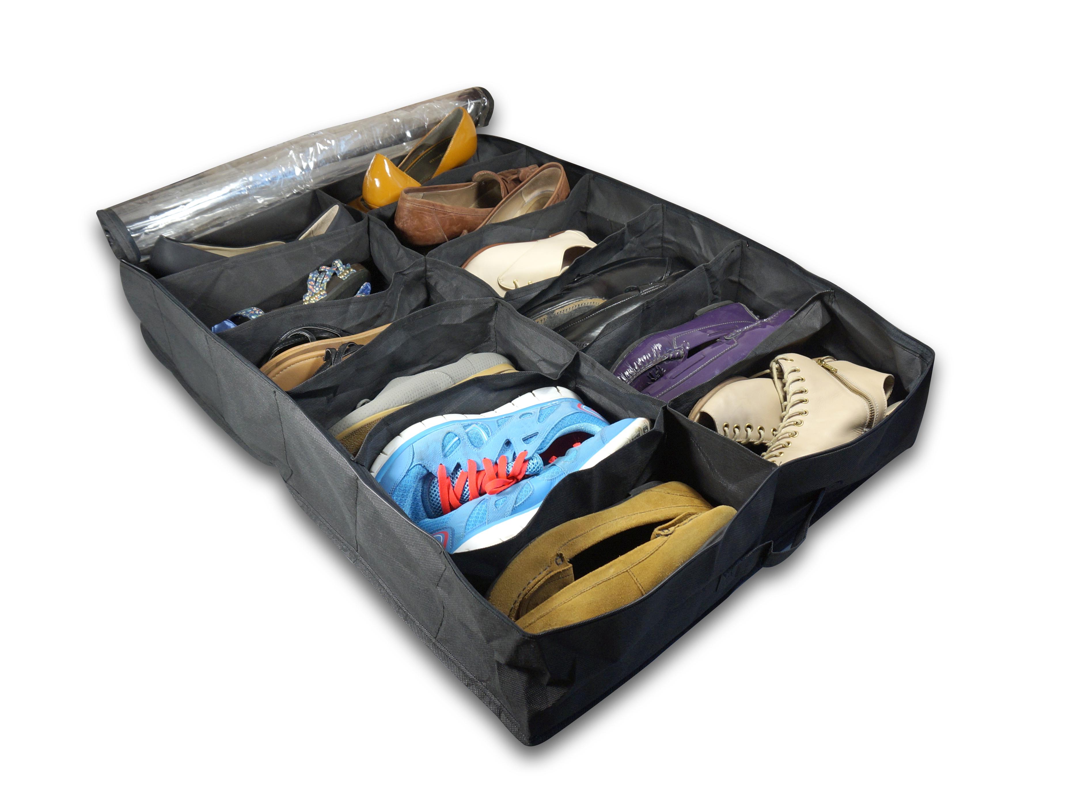 Organización de zapatos, zapateros de tela