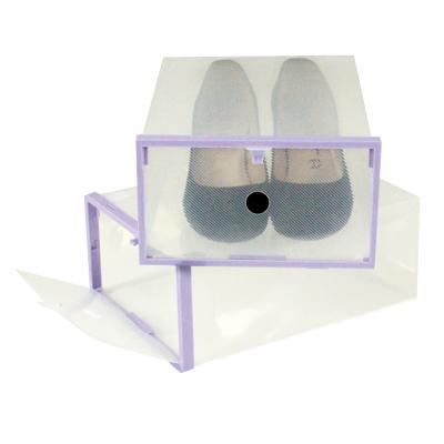 Set de 2 cajas de zapatos jocca - Cajas transparentes para zapatos ...
