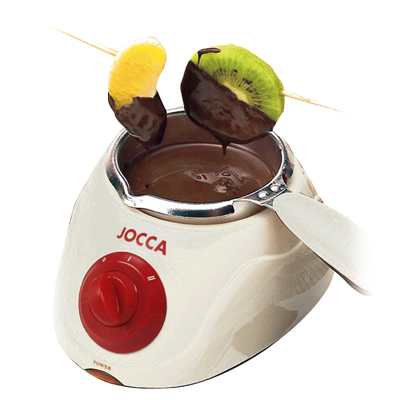 CHOCOLATERA BLANCA