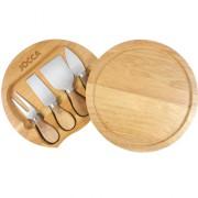 Set de tabla y cuchillos para queso jocca for Set cuchillos villeroy boch tabla