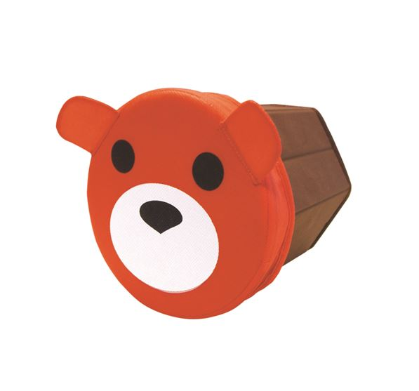 Caja almacenamiento infantil redonda osito jocca for Caja almacenaje infantil